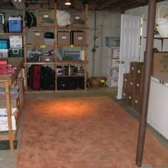 8 Things to do Right Away for an Organized Basement