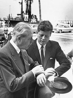 "Ties that bind: Prime Minister Harold Macmillan and President John F. Kennedy, known as Mac and Jack, forged a personal friendship from the very beginning. They first met in Key West FL in March 1961. ""I feel at home with him because I can share my loneliness with him. The others are all foreigners to me"" Kennedy told the London Sunday Times."