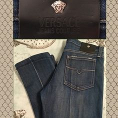 Versace (Authentic) Capri Jeans AUTHENTIC Versace Capri Jeans. **Not brand new** but still in good condition. They have been hemmed (please see pictures), from 41 to about 32. >>> 98% Cotton / 2% other fibers. Please make offers through offer button! Versace Jeans
