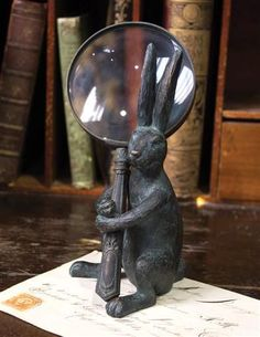 Handy Hare Magnifying Glass