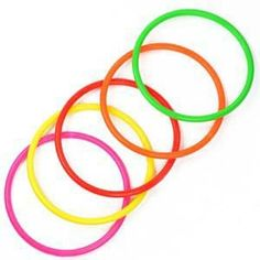 Cosmos 10 pcs Medium Size Plastic Toss Rings for Speed and Agility Practice Games Package includes 10 pcs toss ring Material: plastic Color: hot pink, orange, red, yellow, green Great for speed and agility practice Diameter: 12 cm Game Booth, Flamingo Ornament, Curious George Party, Rings Of Saturn, Sports Games For Kids, Kids Rings, Agility Training, Thing 1, Ring Toss