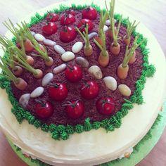 A real spring garden #cake