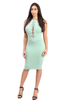 Mint Breeze Dress. Under The SkirtCasual WearBreezeBodycon ... 1027a9738