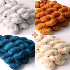 Delicious yarns : silk merino lace from Hedgehog Fibres - emma lamb