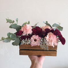 Decoração marsala e rosa chá - Mini wedding