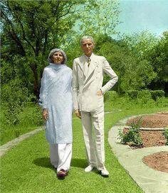 Muhammad Ali Jinnah & Fatima Jinnah
