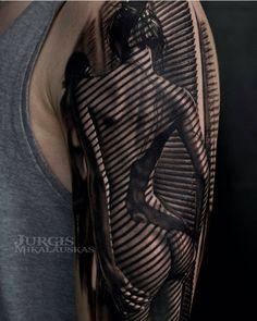 Realistic Tattoo by Jurgis Mikalauskas