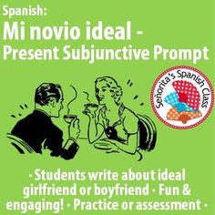 $ Engaging activity to use the present subjunctive. Get students excited to work with the subjunctive mood!