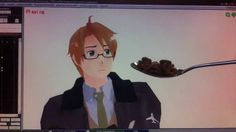 """""""It's up to me to make sure all of my MMD models are fed properly. Unfortuantely, Alfred is the most stubborn of them when it comes to being fed cereal. No ha..."""""""