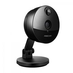 Foscam C1 Indoor HD 720P Wireless IP Camera with Night Vision Up to 26ft Super Wide 115 Viewing Angle PIR Motion Detection and More Black *** Learn more by visiting the image link.
