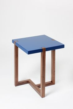 Hugo Passos Piet Side Table Blue