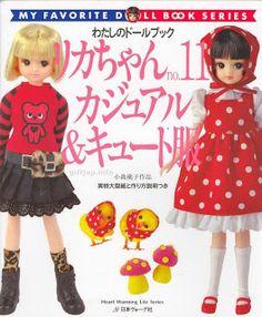 Mimin Dolls: roupas para doll- revista completa 2