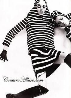Couture Allure Vintage Fashion: 1966 Op Art Furs