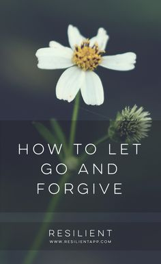 We've all been hurt by another person at some time or another — we were treated badly, trust was broken, hearts were hurt. And while this pain is normal, sometimes that pain lingers for too long. We relive the pain over and over, and have a hard time letting go. Here's how to let go and forgive.