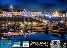 Still waters at the Bridge tonight. Seduced by the intoxicating smells wafting across the harbour from the North Side Chippy! #Hungry #LoveGuernsey  http://chrisgeorgephotography.dphoto.com/#/album/cbc2cr/photo/27861137  Picture Ref: 17_11_14 — at St Sampsons Marina.