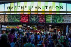 le marché Jean Talon à Montréal O Canada, Canada Travel, Montreal Canada, Quebec City, Banff, Tour Guide, Calgary, Great Places, Vancouver