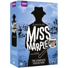 Agatha Christie's Miss Marple: The Complete Collection - Shop Binge on twelve classic mysteries by the Queen of Crime, Agatha Christie, or savor them slowly. Superb actress Joan Hickson serves murder anyway you like it as Miss Jane Marple, the soft-spoken senior sleuth who succeeds where young policemen fail.