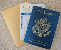 irish passport wedding invitations