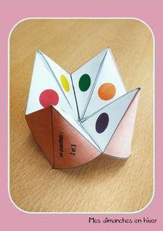 Utiliser le jeu de la cocotte en numération Enamel, Petite Section, Cards, Multiplication Times Table, Dutch Oven, Sunday, Beginning Sounds, Winter, Gaming