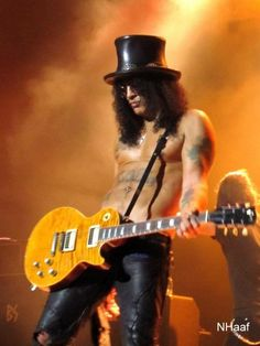 Slash is a British-American musician and songwriter.