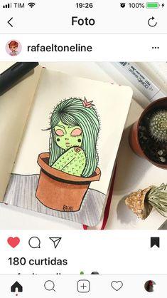 Trippy Drawings, Colorful Drawings, Art Drawings Sketches, Cool Drawings, Tumblr Art, Alien Art, Character Drawing, Art Sketchbook, Diy Painting