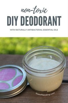 Tired of trying to find a natural deodorants and coming away with something that *almost* gets the job done? Give in and make your own homemade deodorant instead! #nontoxic #naturaldeodorant #homemadedeodorant