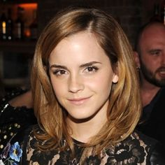 """BEACHY BROWN  """"This sandy brown color goes well with Emma Watson's short haircut,"""" says Robinson. """"It makes her face appear softer."""" Watson's hair is dyed two to three shades lighter than her natural color and blended with highlights. """"It's so finely done that as it grows out, she's not going to get any major demarcations or root lines,"""" says Robinson. She also notes that someone with a layered, wispy cut should avoid going too light. """"Otherwise, their ends will appear thin or see-through."""""""