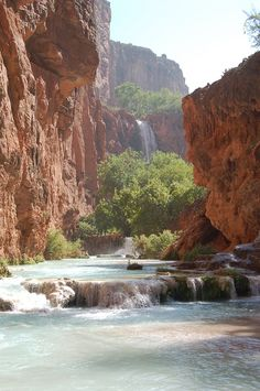 Havasupai Falls, Grand Canyon, AZ.