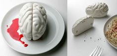 Yes please. Brain Salt and Pepper Shakers! 10$