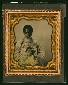 1855, Slave nanny/white child image came from an estate sale somewhere in the flat lands delta area of Arkansas. Likely from one of the following Arkansas towns: Helena, West Memphis, Forest City, Elaine, Brinkley, Cotton Plant, Clarendon, Pine Bluff.