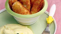 Жареные рыбные палочки. Пошаговый рецепт с фото на Gastronom.ru