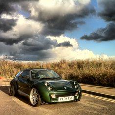 My 2004 Green Smart Roadster - Gareth Dix