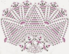 Kira scheme crochet: Scheme crochet no. 62