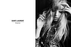 Grace Hartzel stars in Saint Laurent's Palladium 2016 campaign