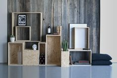 STAPELZOT | OSB modules | interieur | meubel | stapelen | evenement | beurs | Bart Debeuf | Sarah Livemont
