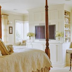I can just imagine curling up to the husb on a cold snowy or rainy night watching our favorite movie or reading my favorite BHG issue. All equals paradise