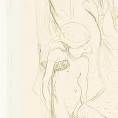 Twee vrouwen aan bar met Amor op kruk en gebroken been, Henri de Toulouse-Lautrec, 1894 -  Rijksstudio - Rijksmuseum