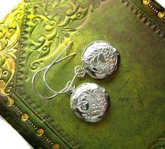 My Secret Tiny Locket Charm Earrings from Hoolala by hoolala, $16.60