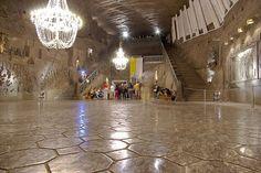 Church in salt tunnel, Polland