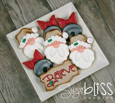 SugarBliss Cookies: SugarBliss Believe