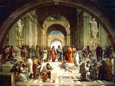 ラファエロ作「アテナイの学堂」