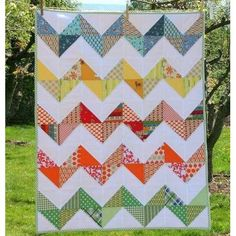 MODERN BABY GIRL QUILT PATTERNS | Sewing Patterns for Baby