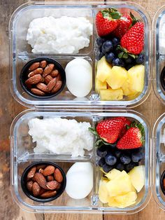 health ideas these healthy meal prep ideas on Sunday nights to prepare for the week ahead and avoid last-minute cooking disasters. Lunch Meal Prep, Healthy Meal Prep, Healthy Foods To Eat, Healthy Drinks, Healthy Snacks, Healthy Eating, Healthy Recipes, Keto Recipes, Keto Meal