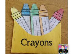 Fun in First Grade: Crayon Writing