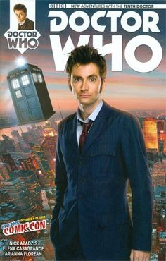 #DoctorWho 10th Doctor #1 Cover L NYCC 2014 - Midtown Comics