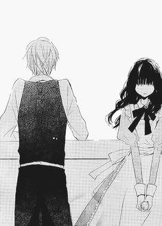 Manga Couple, Anime Love Couple, Last Game Manga, Anime Monochrome, Manga Love, Manga Illustration, Anime Sketch, Beautiful Love, Shoujo