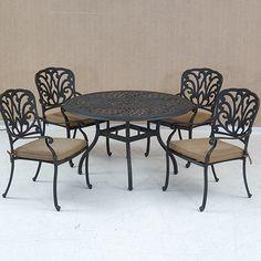 Gardens Bahçe Oturma Takımları Coco Metal Masa Takımı Q120  5.310,90 TL     3.539,90 TL COCO-METAL-MASA-TAKIMI-Q120  1 adet masa ve 4 adet minderli sandalye  Masa çapı: 120 cm  Metal iskelet ve masa