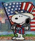 snoopy 4th of july clip art