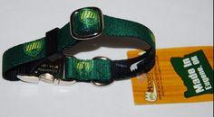 Dog Collar University of Oregon Ducks Size Small Green Yellow #MoosePetWear