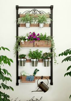 Need help saving space in your backyard? Try adding a vertical garden system in your house this summer.